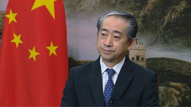 Party Congress to create new development momentum for Vietnam: Chinese ambassador hinh anh 1