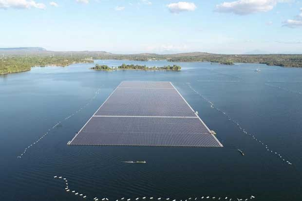 Thailand to put world's largest floating solar farm into use this June hinh anh 1