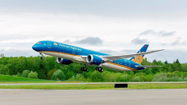 Vietnam Airlines performs nearly 30 flights on Jan 24 serving 13th Party Congress hinh anh 1
