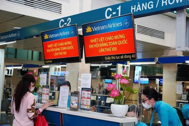 Vietnam Airlines performs nearly 30 flights on Jan 24 serving 13th Party Congress hinh anh 2
