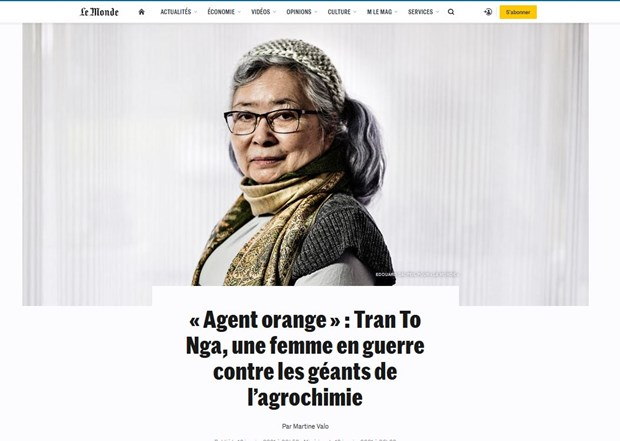 """French media highlight """"historic trial"""" of lawsuit against US AO/Dioxin producers hinh anh 2"""