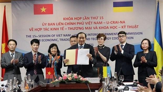 Vietnam, Ukraine beef up trade cooperation hinh anh 1