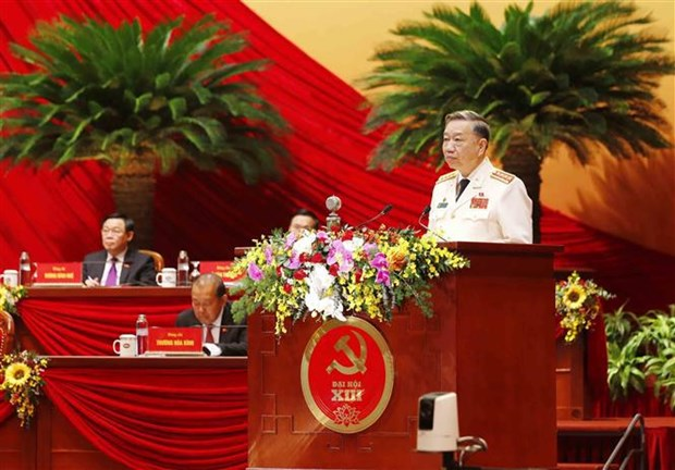 Security, defence, court officials submit proposals to Party Congress hinh anh 1