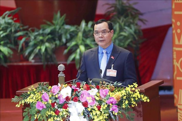 Delegates highlight trade union, women support issues at 13th National Party Congress hinh anh 1