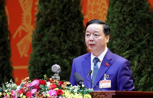 Officials highlight circular economy, macro-economic stability at Party Congress hinh anh 1