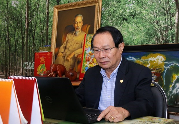 Overseas Vietnamese in Laos have high hopes for 13th National Party Congress hinh anh 1