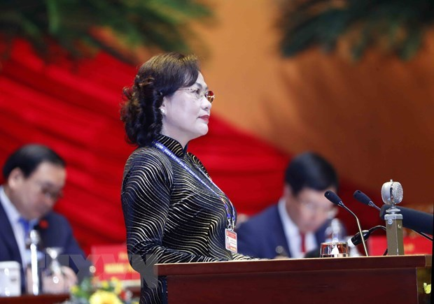 Officials highlight circular economy, macro-economic stability at Party Congress hinh anh 2