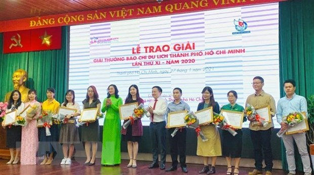 Vietnam News Agency wins three prizes of HCM City Tourism Press Awards hinh anh 1