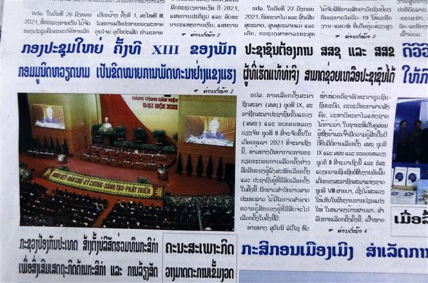 13th Congress marks CPV's strong development: Lao newspaper hinh anh 1