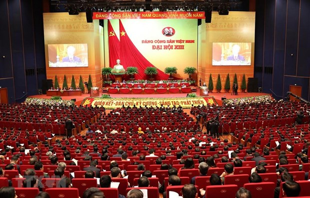 National Party Congress receives more greetings from communist parties hinh anh 1