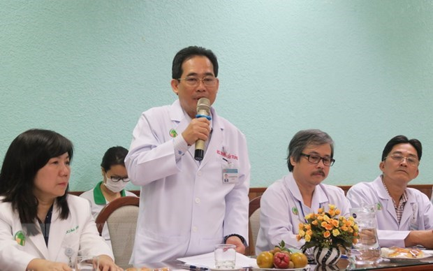 First autologous stem cell transplant successfully performed on 32-month-old child hinh anh 1