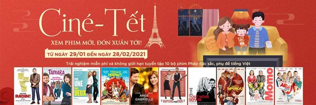 French films screened free online during Tet holiday hinh anh 1