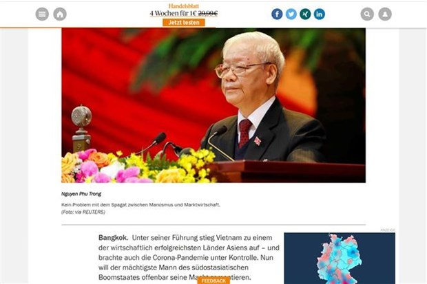 Vietnam's economic prospects highlighted in German media hinh anh 1