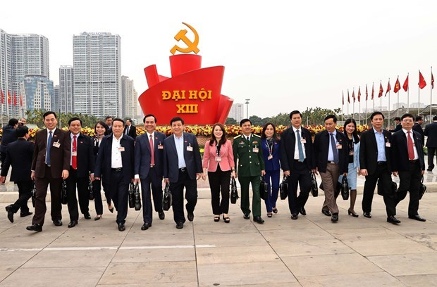 Overseas Vietnamese, US experts show solidarity to 13th National Party Congress hinh anh 1