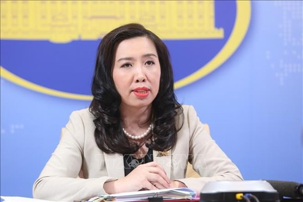 Best conditions possible provided to foreign media during Congress: Spokesperson hinh anh 2