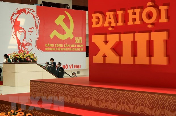 Personnel work focus of 13th National Party Congress's fourth working day hinh anh 1