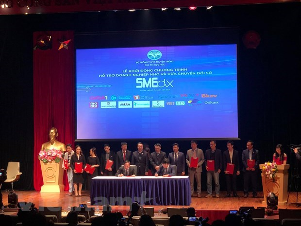 Programme rolled out to back SMEs' digital transformation hinh anh 1