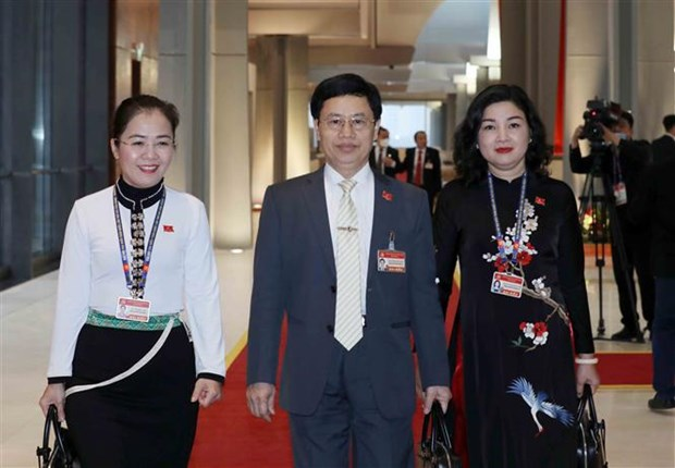 National Party Congress continues working on personnel affairs hinh anh 1