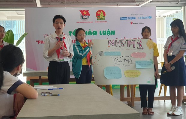 Children's council model proves effective hinh anh 1
