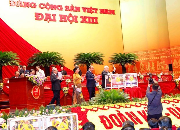 Fifth working day of 13th National Party Congress hinh anh 1