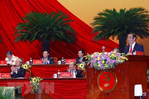 Results of election of 13th-tenure Party Central Committee announced hinh anh 1