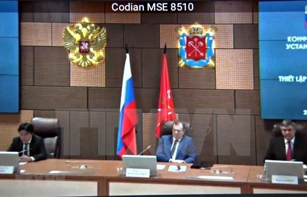 St. Petersburg webinar marks 71st anniversary of Vietnam-Russia ties hinh anh 1