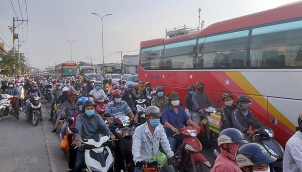 HCM City to invest 23.9 million USD in motorbike emission control hinh anh 1