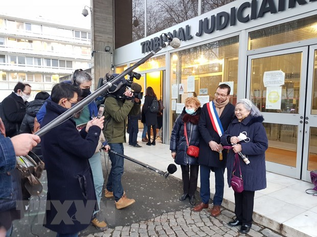 Vietnamese-French women's AO lawsuit wins public support in France hinh anh 1
