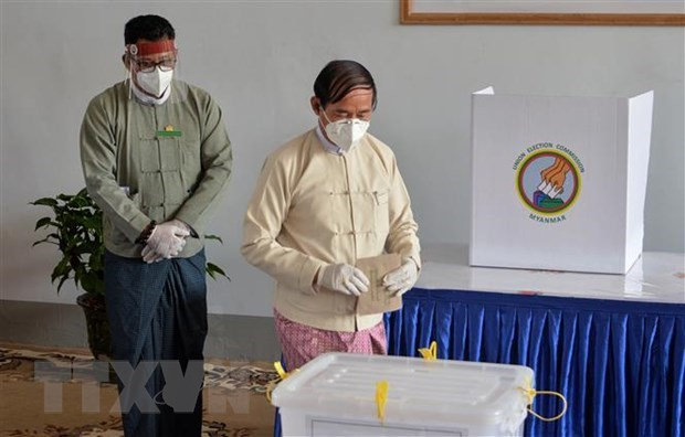 Myanmar army announces date for general election hinh anh 1