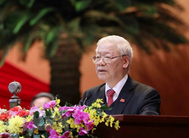 Party General Secretary pledges to complete assigned tasks hinh anh 1
