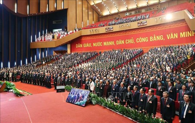 Congress resolution eyes developed country status for Vietnam by mid-21st century hinh anh 2