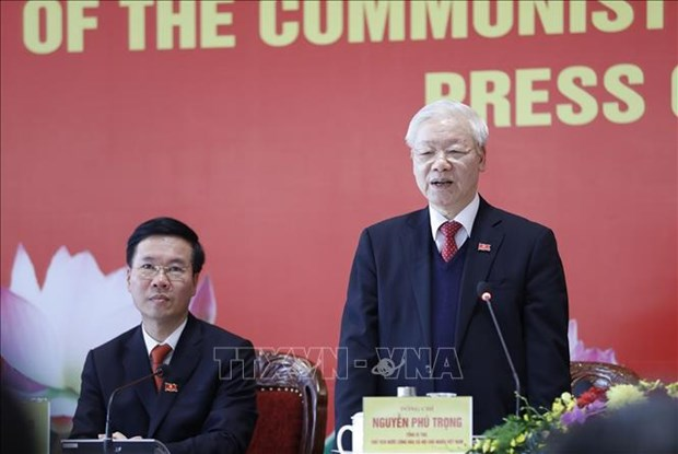 13th National Party Congress a complete success: Top leader hinh anh 1