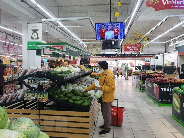 Retail sales, consumer service revenue up ahead of Tet hinh anh 1