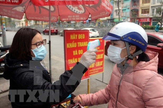 Two more COVID-19 community infections reported in Hanoi hinh anh 1