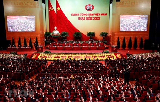Vietnamese in Eastern Europe rejoice at success of 13th National Party Congress hinh anh 1