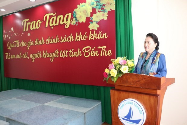 Top legislator calls for support to disadvantaged people hinh anh 1