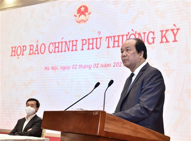 Cabinet members to continue to show high responsibility: official hinh anh 1