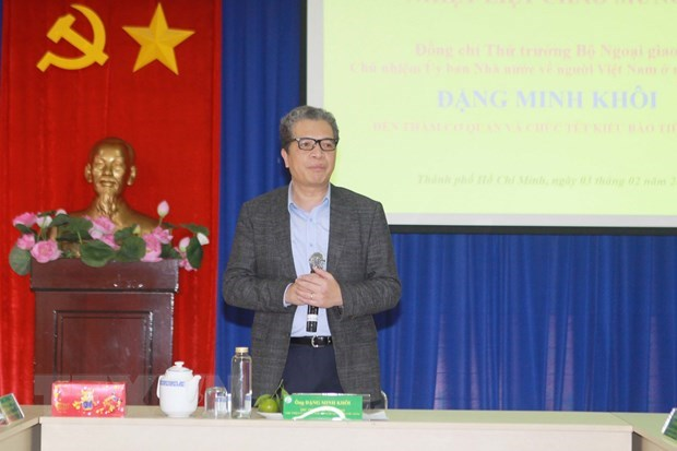 Overseas Vietnamese make active contributions to homeland: official hinh anh 1