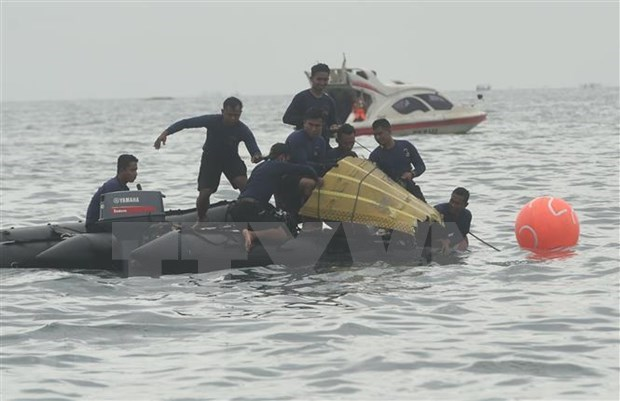 Indonesia sends components of crashed jet to US, UK for examination hinh anh 1
