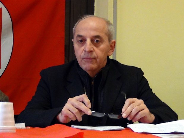 Italian Communist Party leader praises success of 13th National Party Congress hinh anh 1