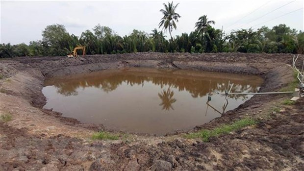 Water shortage, saline intrusion forecast to be serious this year hinh anh 1