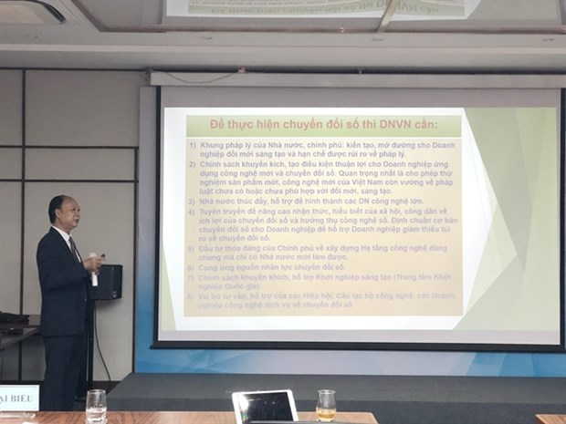 Digital transformation no longer optional for small firms: seminar hinh anh 1