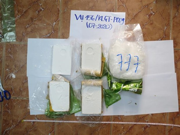 Drug smugglers prosecuted in An Giang hinh anh 1