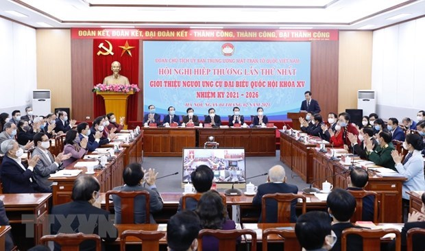 First consultation conference on nomination for National Assembly deputies hinh anh 1