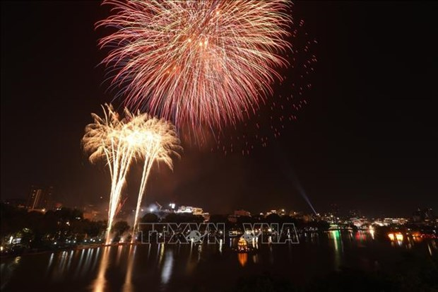 Hanoi to set off fireworks at only one location in Lunar New Year's Eve hinh anh 1