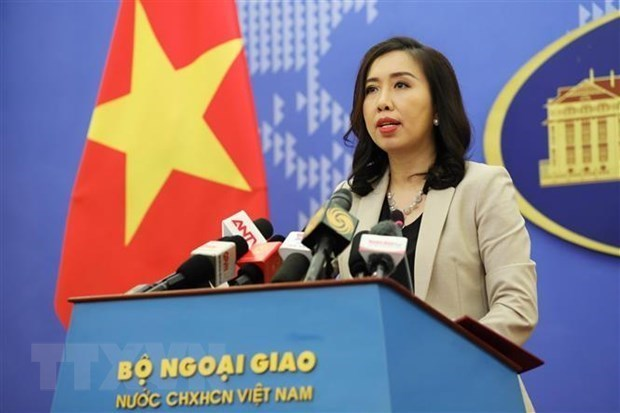 Vietnam advocates rule-of-law principle on seas and oceans: Spokesperson hinh anh 1