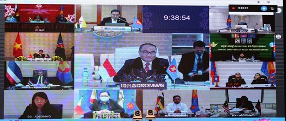 Vietnam attends ASEAN Defence Senior Officials' Meeting Working Group hinh anh 2