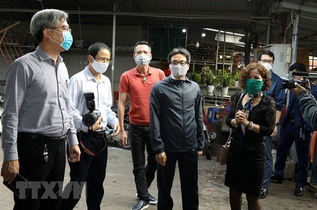 Pandemic control in Hanoi on right track: official hinh anh 1