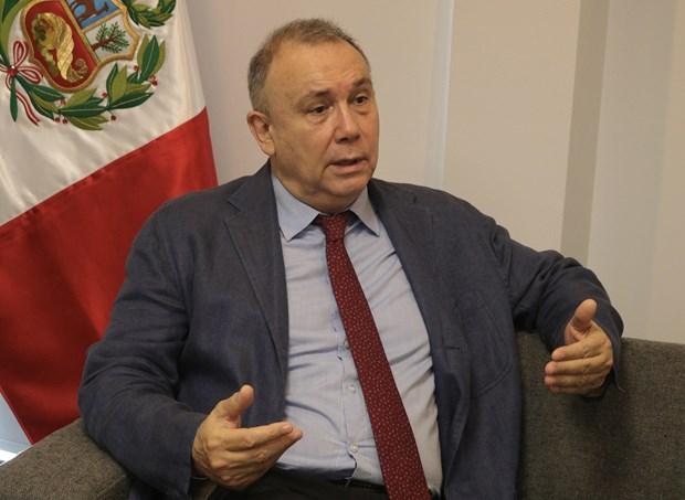 Peruvian Ambassador hails Vietnam's international role hinh anh 1