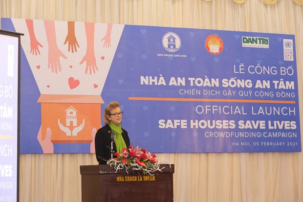 UNDP campaign helps build flood-resilient houses in central Vietnam hinh anh 1